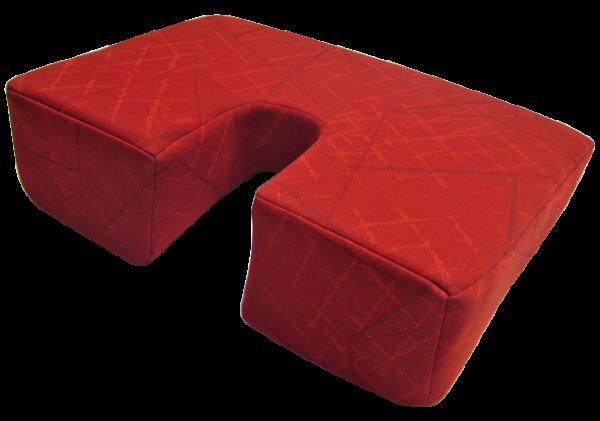 Sitzkeilpolster mit Ausschnitt