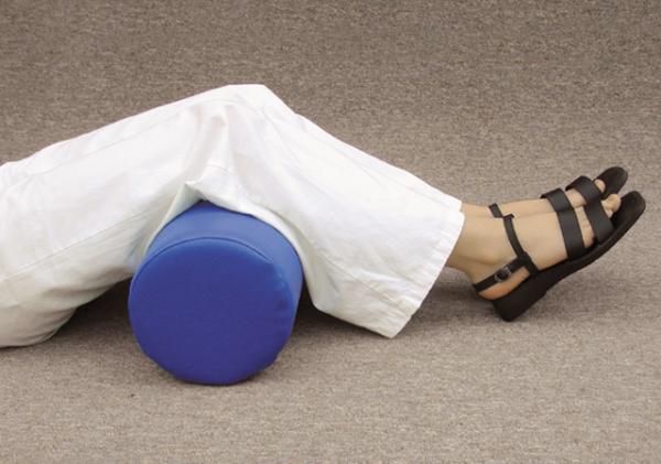 Nacken- und Knierolle mit Schaumstoffkern