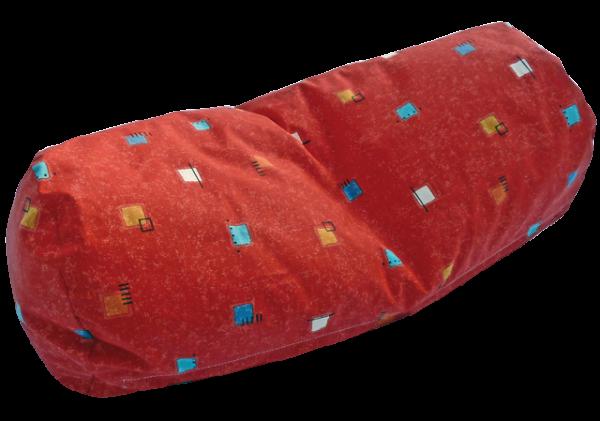 Abnehmbare Außenbezüge für Nacken- / Knierolle mit Polypropylenperlen-Füllung